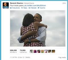 Most Popular Memes Of All Time - obama 4 more years tweet becomes most popular of all time