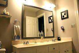 Frames For Bathroom Wall Mirrors Exclusive Design Frames For Bathroom Wall Mirrors Diy Framed