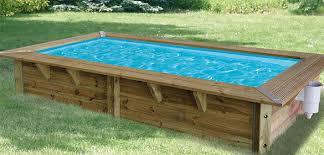 piscine bois ubbink azura 3 5x2x0 71m liner bleu piscineco fr