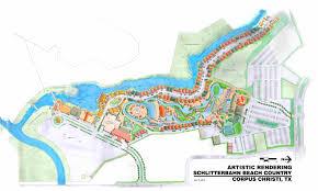 Texas Beaches Map 2013 01 21 Master Plan Schlitterbahn News Room