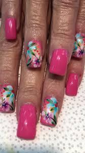 tropical airbrush design nails pinterest airbrush designs