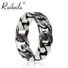 chain ring necklace images Usd 37 07 ruibeila925 silver chain ring couples pair of rings jpg