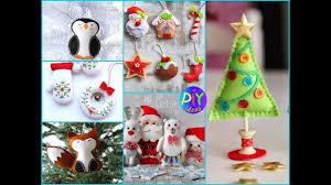 50 wonderful diy felt ornaments for christmas crafts ideas to