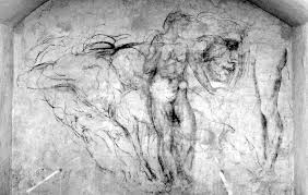 michelangelo u0027s hidden drawings at medici chapels amusing planet