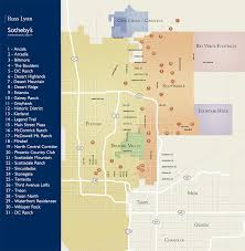 Map Phoenix Area by New Homes For Sale Paradise Valley Scottsdale Real Estate Phoenix