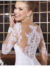 wedding dresses with sleeves uk lace sleeve mermaid trumpet wedding dresses ebay
