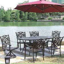 Hotsale Heavy Duty All Weather Rust Free Cast Aluminum Outdoor - Heavy patio furniture