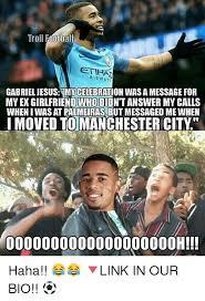 My Ex Meme - troll football airways gabriel jesus mvcelebration wasamessage for