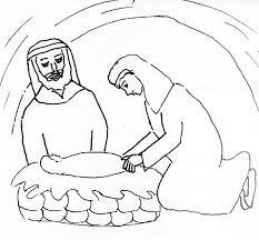 birth of jesus coloring page bible story coloring page for birth of the lord jesus free bible