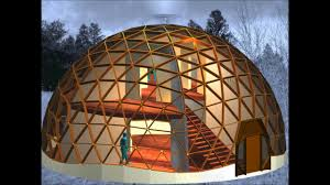Geodesic Dome House A Class I 6 Frequency Geodesic Dome Structure Constructed With