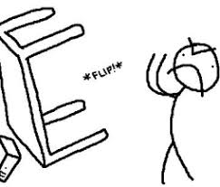 Throwing Table Meme - image 222166 flipping tables know your