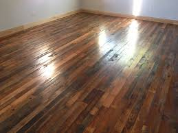 reclaimed hardwood flooring modern house