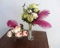 Ostrich Feathers For Centerpieces by U S A Ca 1 100 Pcs Ostrich Feathers U0027purple Rain Collection U0027 10