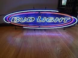 bud light light up sign bud light neon sign bud light beer neon light up sign long bar pub