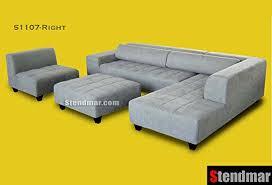 Yellow Sectional Sofa Product Reviews Buy 4pc Modern Grey Microfiber Sectional Sofa