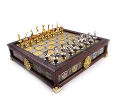 harry potter quidditch chess set silver and gold plated amazon