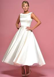 tea dresses wedding tea length wedding dress bridal gown dresscab