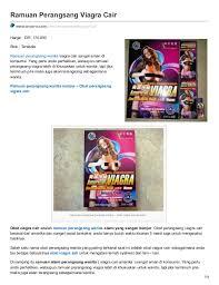 ramuan perangsang wanita viagra cair