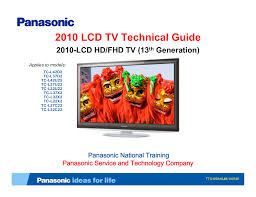 download free pdf for panasonic viera tc l42u22 tv manual