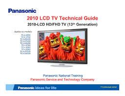 download free pdf for panasonic viera tc l42u22 tv manual