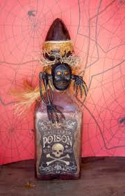 funny vintage colored halloween potion and food labels royalty