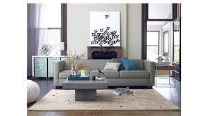 style sofa club 3 seater sofa cb2