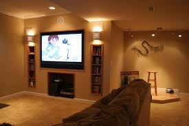 basement recessed lighting design