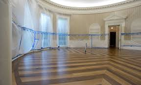 donald trump is renovating the white house including the empty