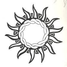 tribal sun designs 46 most amazing tribal sun designs