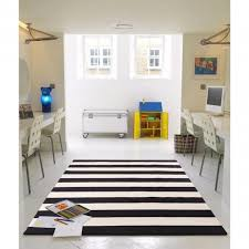 Black White Runner Rug Black And White Striped Runner Rug Rugs Design