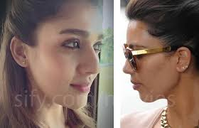 kanye west earrings exclusive nayanthara gets the initial earring