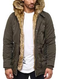 designer jacke designer jacke winterjacke mit kapuze und stylischem fell parka