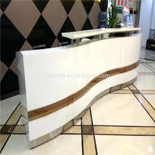 White Curved Reception Desk Desk 109 Curved Reception Desk Plans Wonderful Valde Countertop