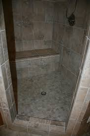 open shower ideas bathroom walk in tiled very popular mosaic grey open shower ideas bathroom walk in tiled very popular mosaic grey ceramic floor tile feat gray seating
