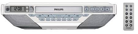 Kitchen Cd Player Under Cabinet by Kitchen Clock Radio Aj6111 37 Philips
