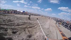 freestyle motocross ramps dirt biker nosedives off dirt ramp jukin media