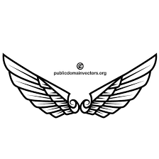 wings for tattoo design download at vectorportal