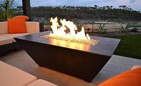 Rectangle Fire Pit - diamond fire pit glass gfrc fire pit tables