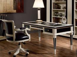 Black Secretary Desk With Hutch by More Features Added For Modern Writing Desk Herpowerhustle Com