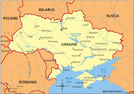map ukraine map ukraine major tourist attractions maps