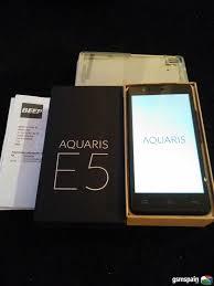 vendo bq aquaris e5 4g impecable perfecto con caja accesorios y