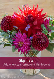 How To Make Floral Arrangements Step By Step Bountiful Blooms A Harvest Arrangement Tutorial