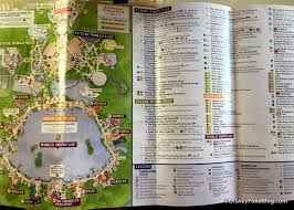 Disney World Epcot Map 2017 Epcot Food And Wine Festival Booths Menus And Food Photos
