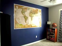 sherwin williams naval with gray screen on opposing wall new