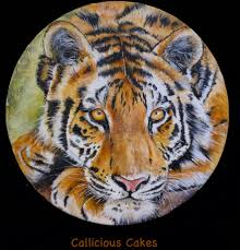 Courses For Painting And Decorating Tiger Hand Painting Class Http Www Designer Cakes Com Online