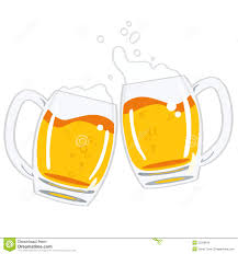 beer vector two glasses of beer vector royalty free stock image image 25238616