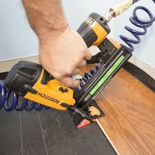 Engineered Flooring Stapler To Install An Engineered Hardwood Floor