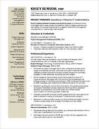 Project Manager Sample Resumes by Project Manager Resume Sample Resume Pinterest Project
