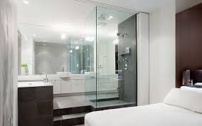 bathroom in bedroom ideas open bathroom concept for master bedroom