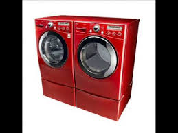 Cheap Laundry Pedestal New Release Lg Wild Cherry Red Washer And Dryer Pedestal Youtube